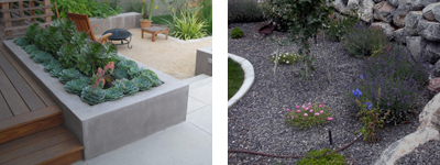 Garden beds by ConcScape Solutions